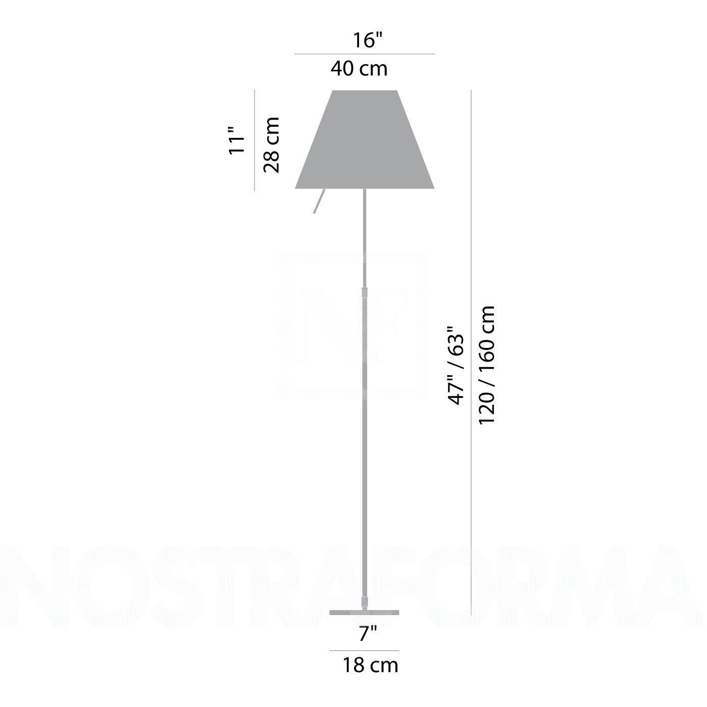 COSTANZA D13 t LED Floor Stehleuchte - 2